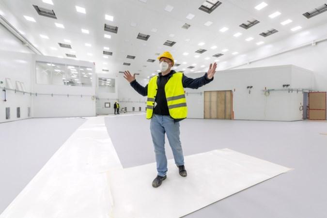 'Tempel' vol bètawetenschap in aanbouw bij de Universiteit Maastricht: 'Je moet hier eerst een sciencefictionfilm opnemen'