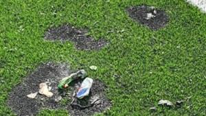 Vernielingen aan kunstgrasveld van voetbalclub in Munstergeleen