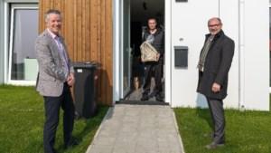 Welkomscadeau voor nieuwe bewoners Bosweg Montfort