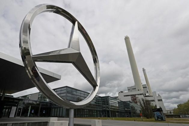 Deeltijd-WW voor duizenden werknemers Daimler wegens chiptekort