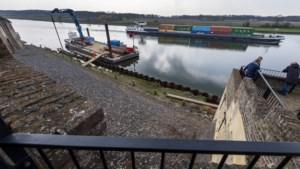 Maasboulevard in Kessel krijgt vorm vanaf een ponton