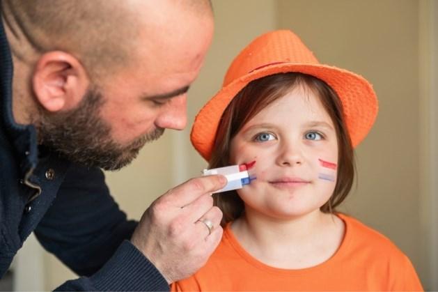 Koningsdagactiviteit bij kindervakantiewerk Swartbroek