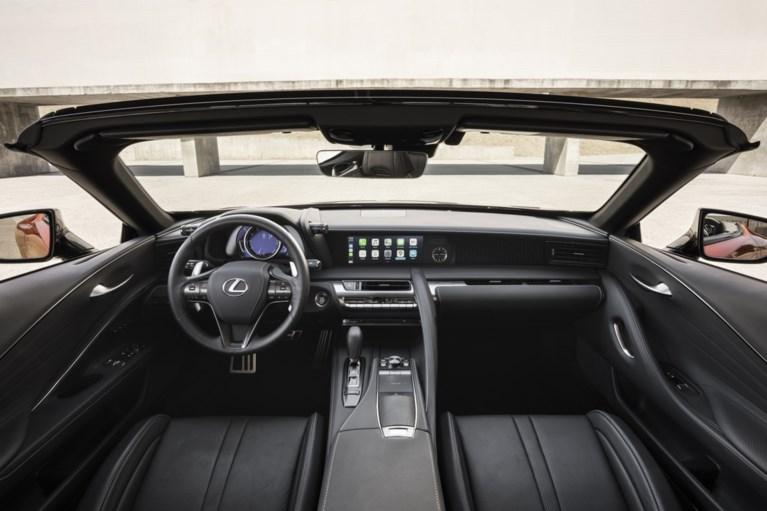Lexus LC 500 Convertible opvallende verschijning