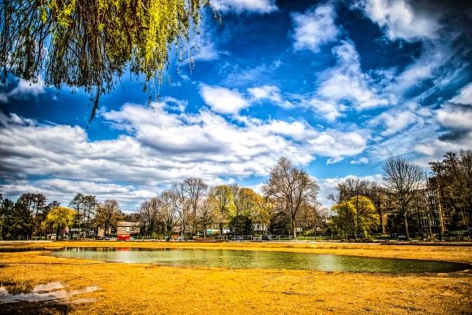 Metamorfose Stadspark Sittard krijgt vorm: roeivijver oogt voor even als verlaten strand