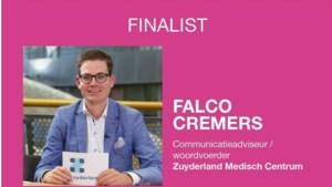 Falco Cremers finalist in nationale verkiezing CommunicatieTalent