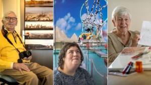 Cliënten thuiszorg creatief bezig in coronatijd: 'Een supermooi project. Dit zorgt toch voor wat afleiding'