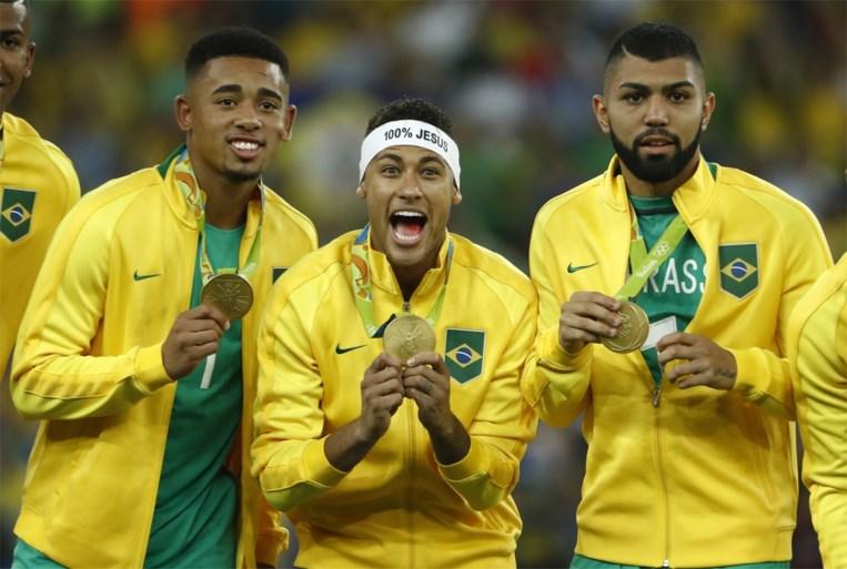 Olympische ploeg Brazilië hoopt in Tokio opnieuw op Neymar