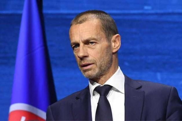 UEFA-preses Ceferin: de twaalf clubs zijn nog niet van ons af