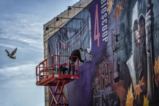 Laatste Romeinse scene op Quarto Cinema; Studio Giftig is derde en laatste maker van 'estafette-mural'