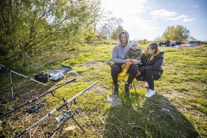 Rustig tijdens zonnige Koningsdag in Limburg: 'Een dag als alle andere, maar dan met een tompouce'