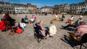 Op Koningsdag in Maastricht valt de drang naar het terras reuze mee