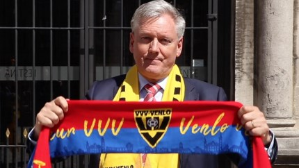 Videoactie supporters ter ondersteuning VVV: burgemeester Scholten en wethouders trappen af
