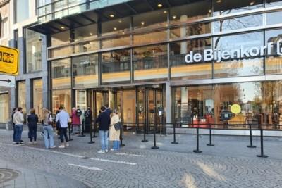 Winkelend publiek staat niet te trappelen bij heropening winkels in Maastricht