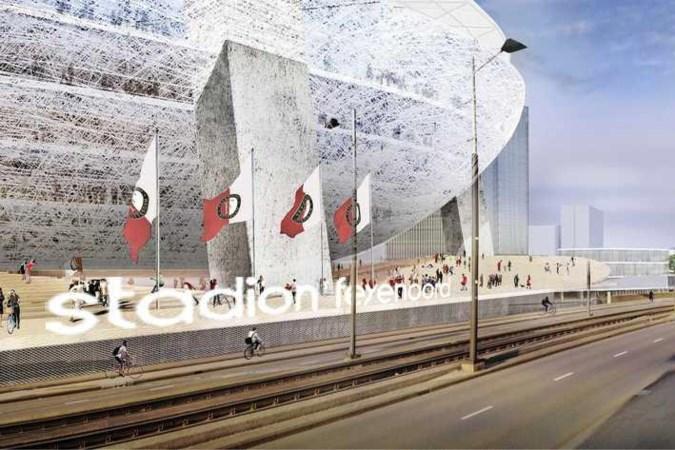 Feyenoord zegt 'ja' tegen nieuw stadion