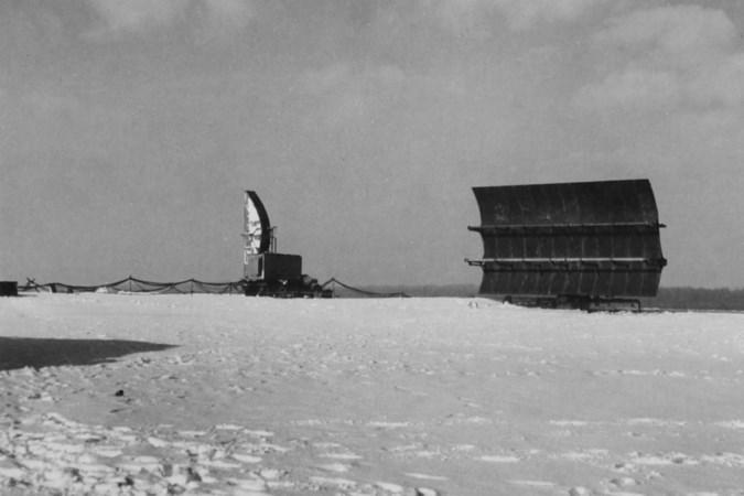 Vanaf dit hooggelegen plekje in Zuid-Limburg overzagen de Amerikanen in de oorlog het luchtruim boven Aken en de Eifel