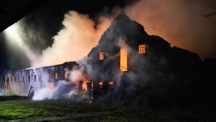 Video: Brand waarschijnlijk doodsteek voor monument Pannenhof Beegden: 'Een blamage voor de gemeente'