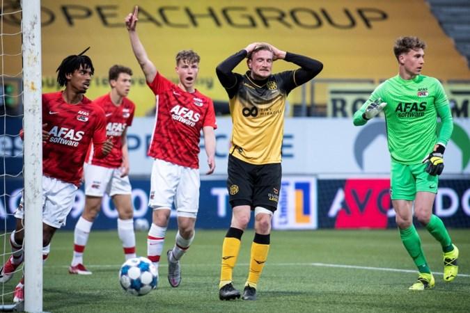 Roda incasseert voor eigen publiek nieuwe tik en verliest ook van Jong AZ