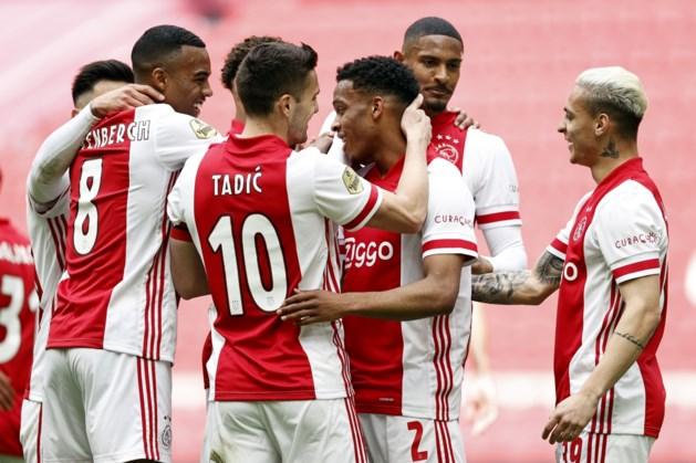 Ajax zet met 35e landstitel kroon op geslaagd seizoen