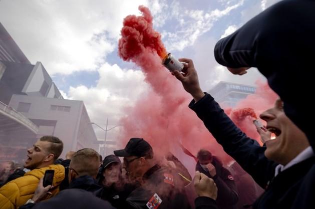 12.000 Ajax-fans bij ArenA, Amsterdam greep bewust niet in