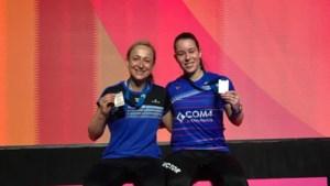 Cheryl Seinen pakt met dubbelpartner brons op EK