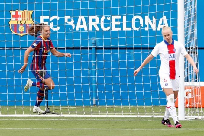 Lieke Martens leidt voetbalsters Barcelona met twee treffers naar finale van Champions League tegen Chelsea