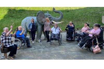 Er staat sinds kort een olifant in Kerkrade en niet in GaiaZOO