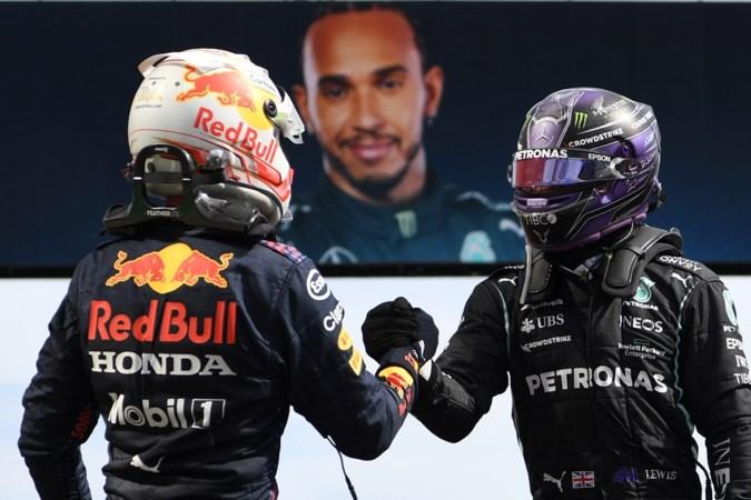 Titanenstrijd tussen Verstappen en Hamilton gaat verder: 'Het moet hard, tot op de limiet'