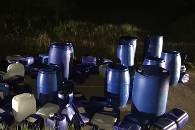 Drugsafval gevonden in langs pad in Munstergeleen