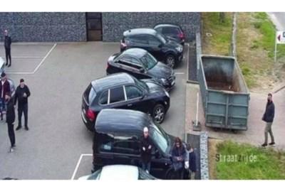 Begrip en bijval voor bedrijf dat illegaal parkerende outletbezoekers insloot met een container