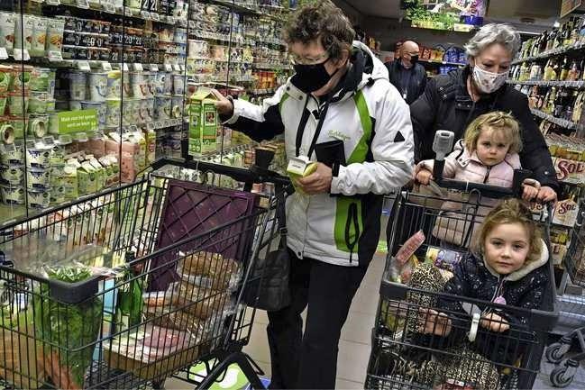 Besmet in de supermarkt? 'Meeste klanten hebben slechts vluchtig contact'