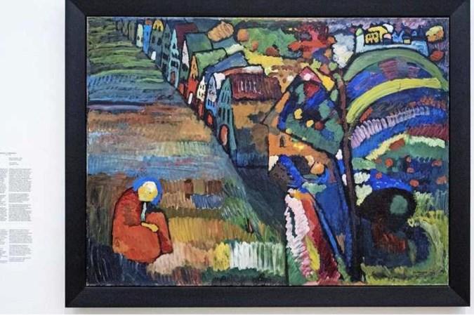 Erfgenamen eisen meesterwerk Kandinsky terug van Stedelijk Museum