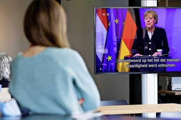 Merkel: 'Duitse misdaden verjaren nooit'