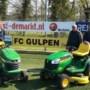 Vrijwilligers FC Gulpen kunnen voorlopig weer vooruit met gloednieuwe grasmaaiers