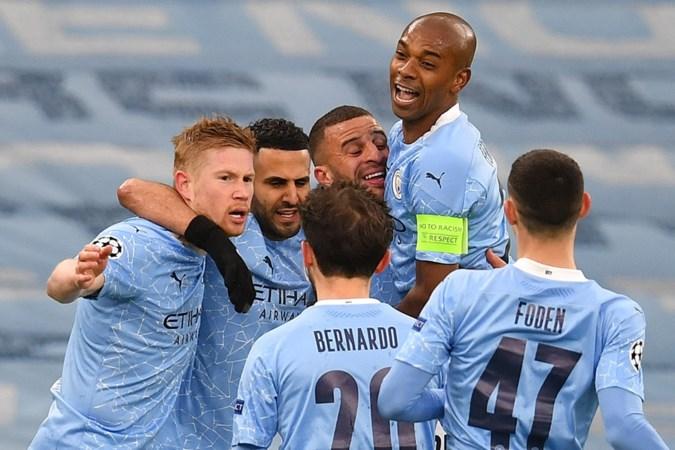 Mahrez schiet City voor het eerst naar finale Champions League