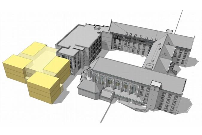 Zorgcentrum in klooster Panningen wordt uitgebreid; volgend jaar 24 nieuwe appartementen