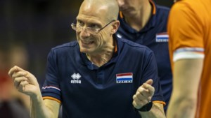 Volleyballers winnen eerste EK-kwalificatieduel van Kroatië