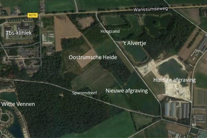 Heftig protest tegen nieuwe zandafgraving in Oostrum