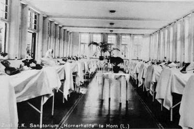 Longzorg Horn honderd jaar geleden: vooral rusten in de buitenlucht