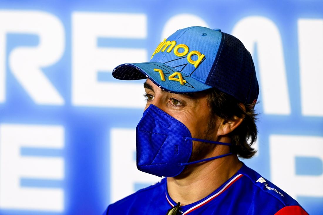 Alonsomania is voorbij: Fernando Alonso kan ook na zijn terugkeer in de Formule 1 redelijk anoniem o