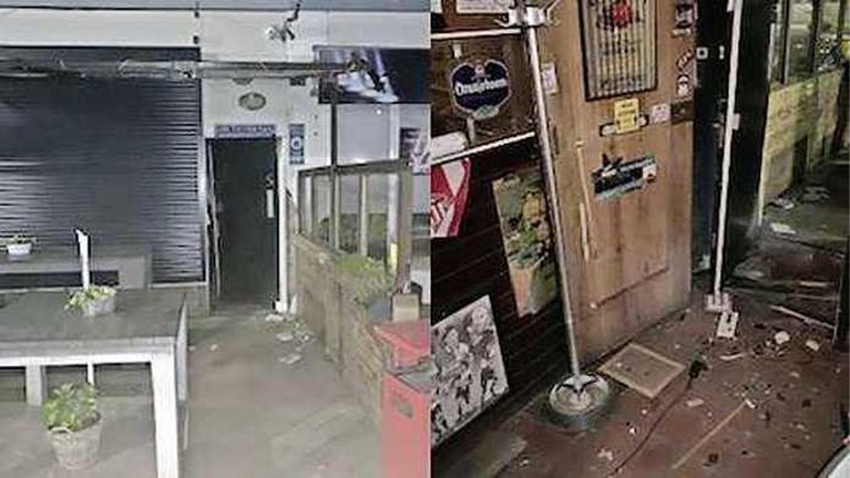 Na explosies Rotterdam nu ontploffing bij 'Ajax-café'