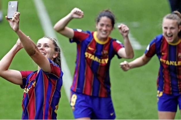 Eerste missie Lieke Martens voltooid: Spaanse titel binnen