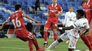 Volop spanning in Spaanse titelstrijd na gelijkspel Real Madrid - Sevilla