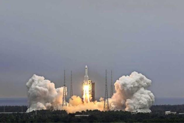 China: brokstukken raket zijn in Indische Oceaan terechtgekomen