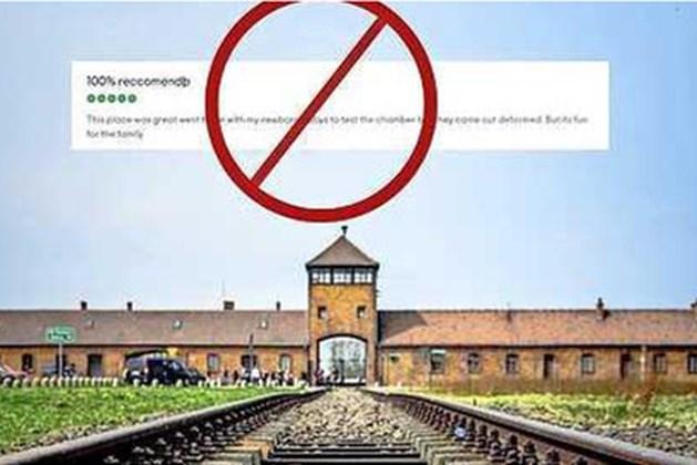 Tripadvisor blundert met 'recensie' over gaskamers Auschwitz