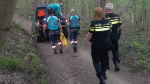 Mountainbiker gewond in Schin op Geul