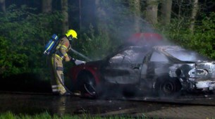 Video: Brand in auto in Kerkrade