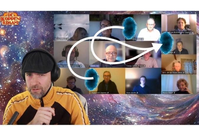 Online vergaderingen van de gemeenteraad willen nog wel eens fout gaan; Dio uit Aijen maakt er humoristische filmpjes van