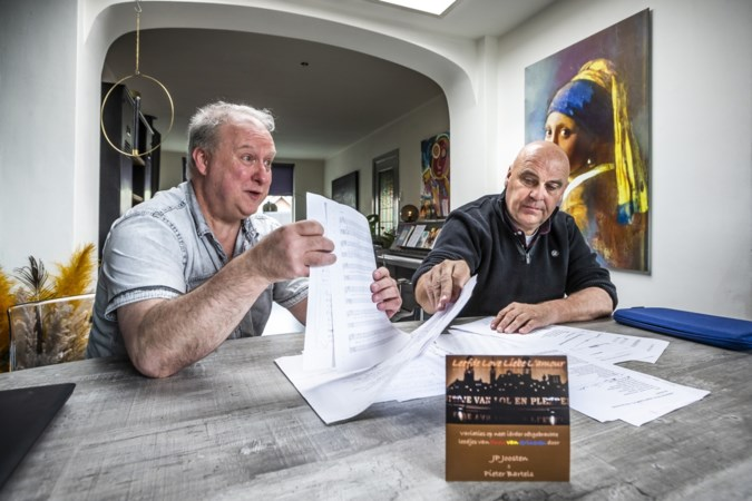 Eerbetoon aan Funs van Grinsven: hoe twee muzikanten uit Venlo van twintig velletjes 'gekriebel' tot een mini-cd kwamen