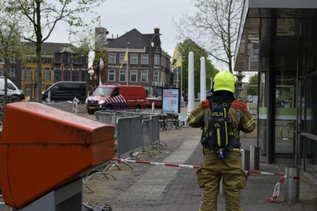 Gasleiding geraakt tijdens werkzaamheden in Venlo, omgeving afgezet