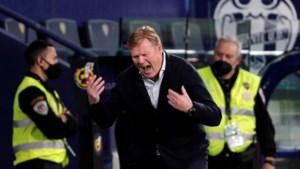 Ronald Koeman ziet FC Barcelona zege verspelen: titel lijkt uit zicht